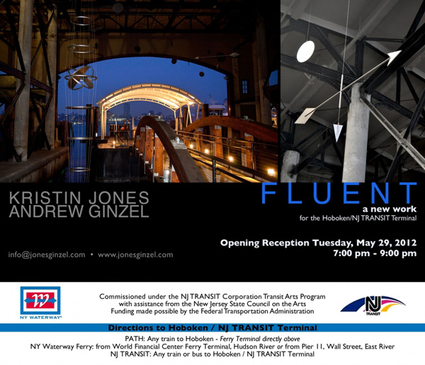 "Fluent"" by Kristin Jones and Andrew Ginzel Opens at Hoboken"
