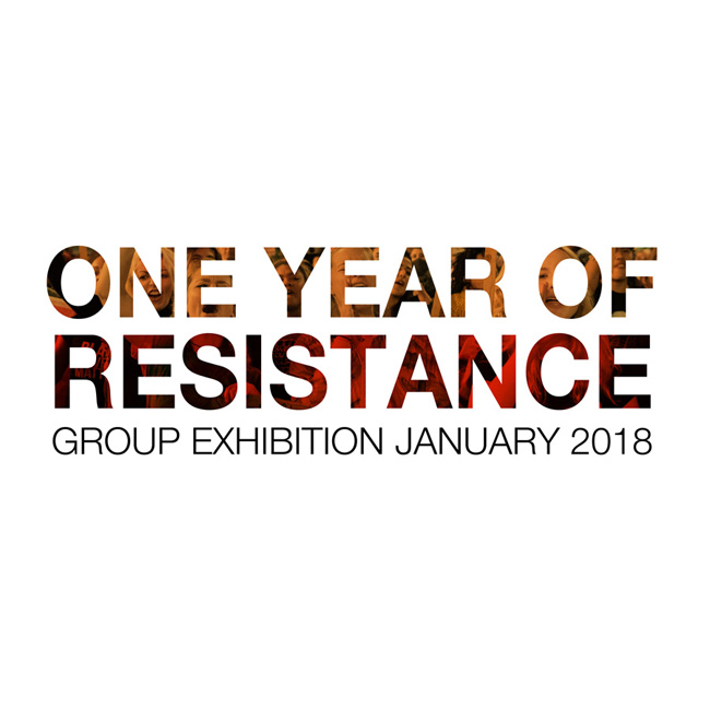 ONE YEAR OF RESISTANCE lr sq