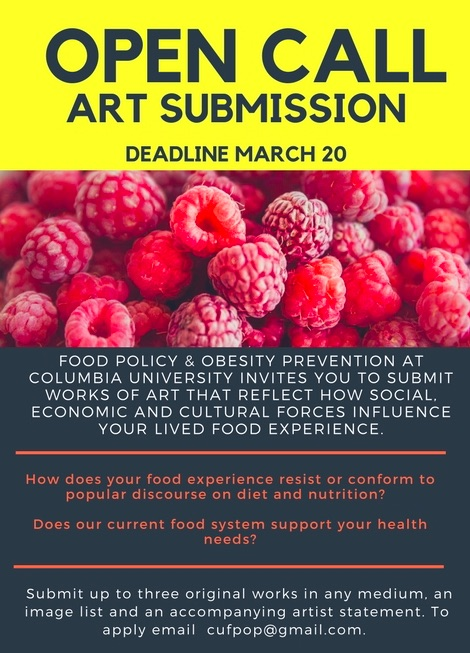 Open Call-Food Justice Art Exhibition   Art in New York City